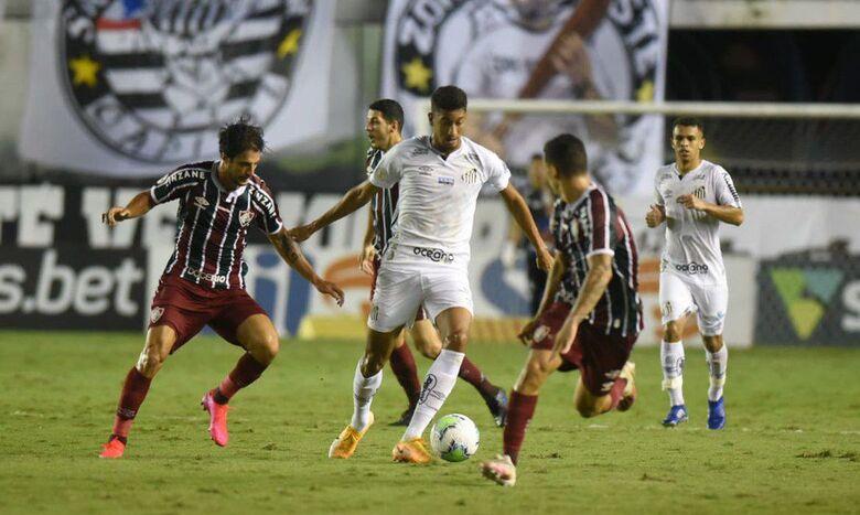 Santos empata com Fluminense e Grêmio se garante na pré-Libertadores - Crédito: Ivan Storti / Santos