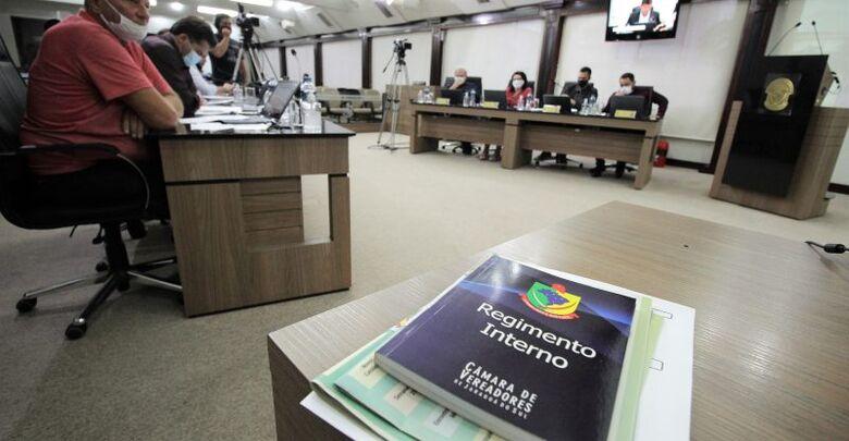 Formadas as comissões fixas na Câmara de Jaraguá  - Crédito: Divulgação Câmara de Jaraguá