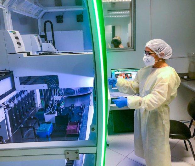 Governo do Estado reforça protocolos de cuidados com variantes da covid-19 vírus - Crédito: Fabrício Escandiuzzi / Arquivo/ SES