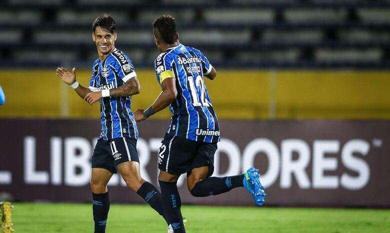 Com reservas e meninos, Grêmio vence e segue na pré-Libertadores - Crédito: Lucas Uebel/Grêmio FBPA