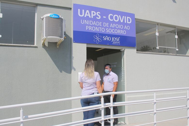 Sem leitos vagos, Associação Médica de Jaraguá diz que situação da covid-19 é gravíssima - Crédito: Divulgação
