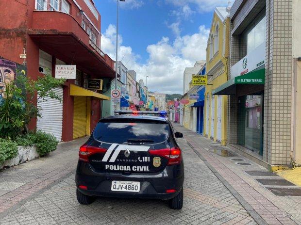 Polícia segue na fiscalização para o cumprimento de Decretos em SC  - Crédito: Divulgação Polícia Civil