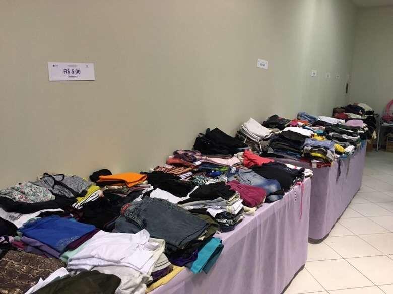 Bazar beneficente Amoração é transferido para a próxima semana  - Crédito: Arquivo / Divulgação