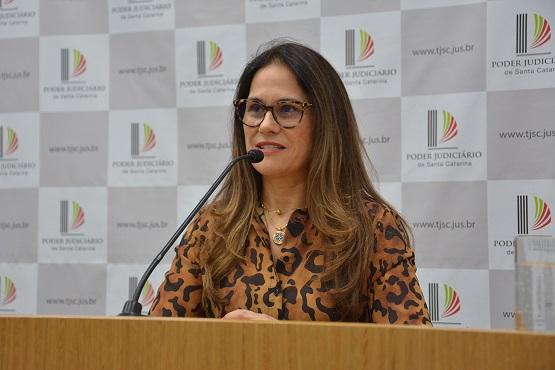 Relatório da desembargadora Rosane Wolff será votado na sessão do dia 26 de março - Crédito: TJSC/Divulgação