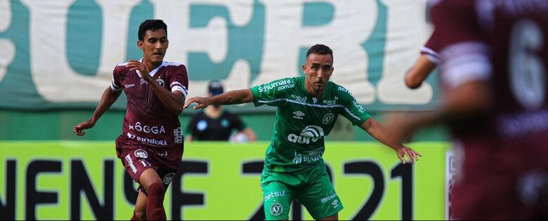 Chapecoense garantiu a vitória na Arena Condá - Crédito: Marcio Cunha/Chapecoense