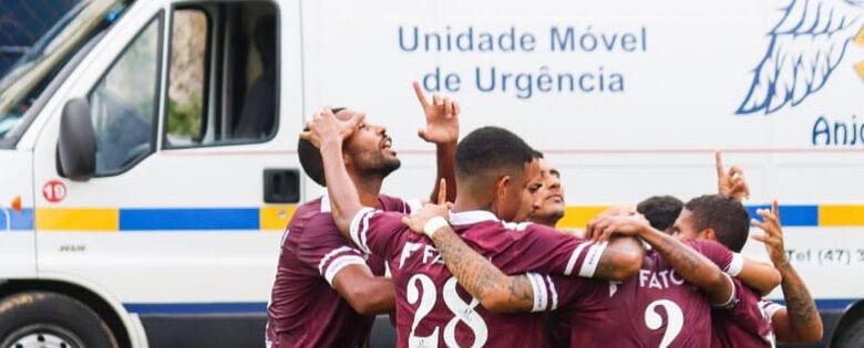 Juventus encara o Figueirense nesta quinta-feira, em Jaraguá  - Crédito: Divulgação Juventus