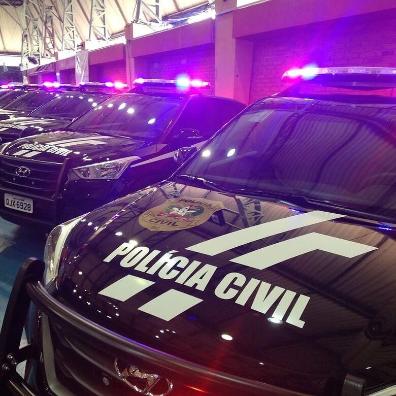 Foragido da Justiça do Paraná por tráfico de drogas é preso em Jaraguá  - Crédito: Divulgação Polícia Civil