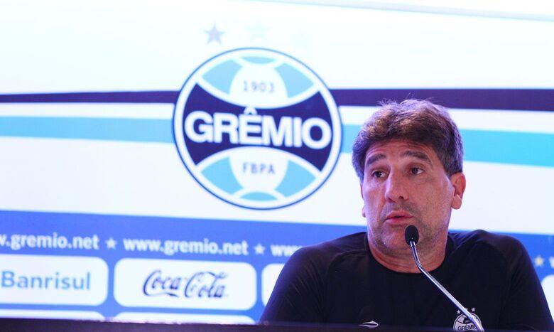 Após queda na Libertadores, Renato Gaúcho deixa comando do Grêmio - Crédito: Lucas Uebel / Grêmio