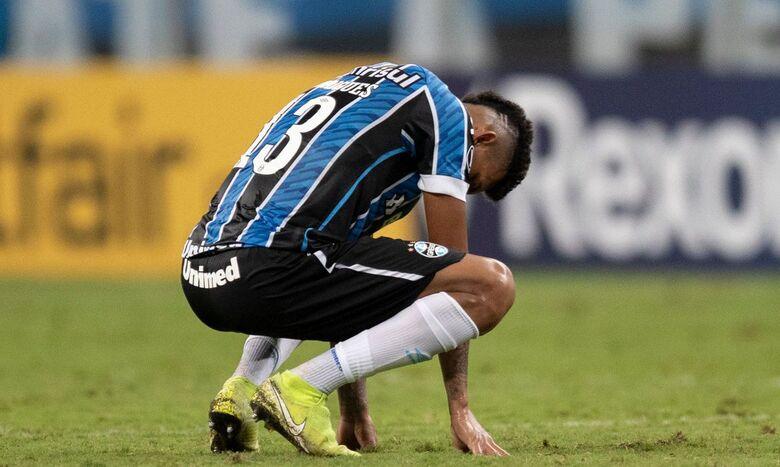 Grêmio perde outra vez para Del Valle e dá adeus à Libertadores - Crédito: Liamara Polli / Reuters