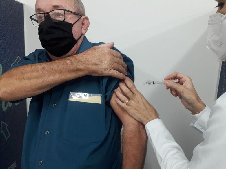 Mais de 3,7 mil pessoas devem tomar a segunda dose contra covid nesta semana em Jaraguá   - Crédito: Arquivo / Divulgação