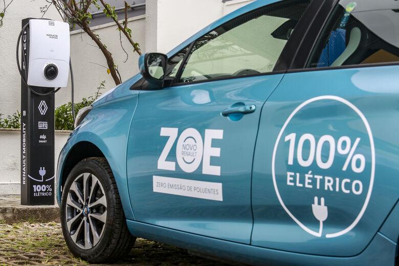 Renault, WEG e EDP fazem parceria para expandir estações de recarga para veículos elétricos - Crédito: Divulgação