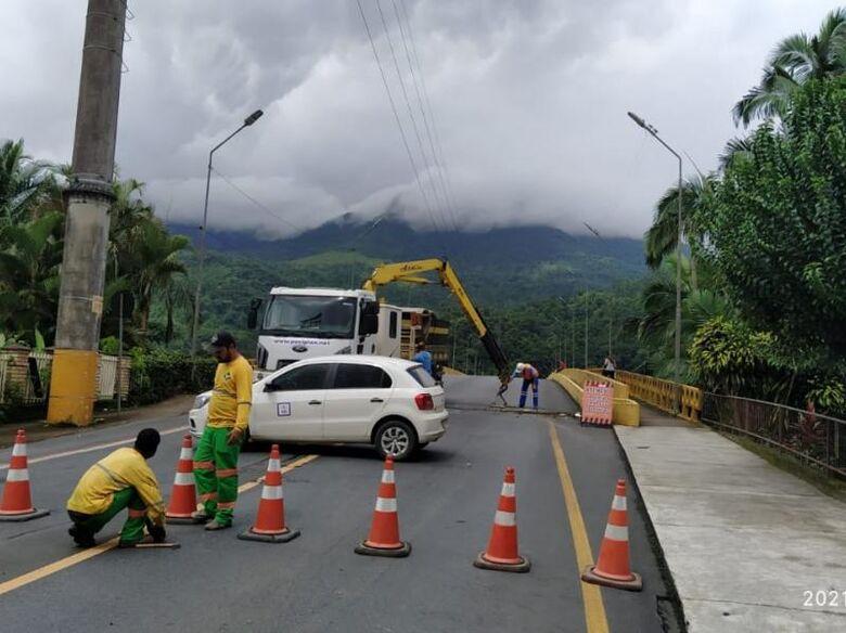Ponte do Trabalhador será liberada no final da tarde desta quinta - Crédito: Divulgação / PMJS