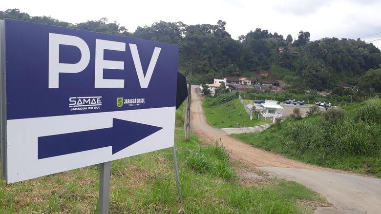 PEV fechado nesta quarta-feira; lixo terá coleta normal em Jaraguá  - Crédito: Divulgação