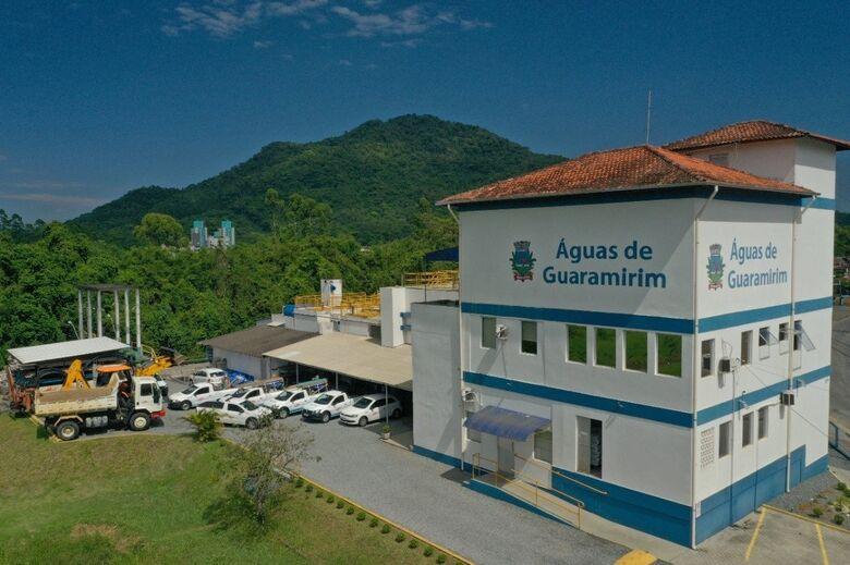 Moradores de Guaramirim ficarão sem fornecimento de água na terça-feira - Crédito: Divulgação