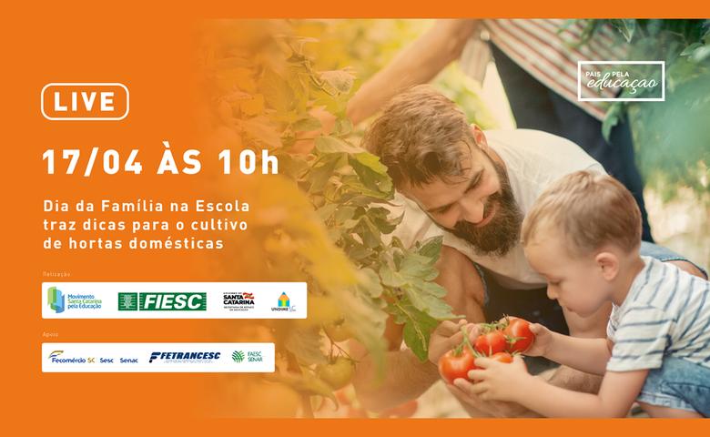Dia da Família na Escola traz dicas para o cultivo de hortas domésticas - Crédito: Divulgação