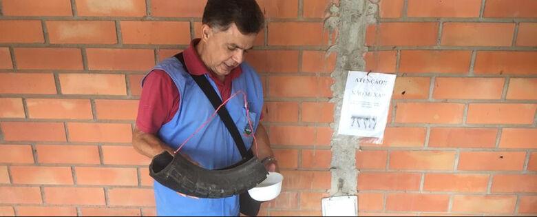 Em três meses, Guaramirim contabiliza 63 focos do mosquito da dengue  - Crédito: Divulgação / Prefeitura de Guaramirim