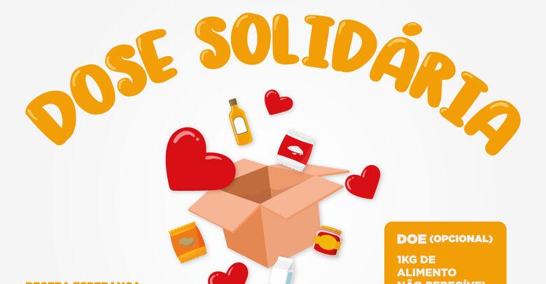 Dose solidária: prefeituras se unem em campanha de arrecadação de alimentos - Crédito: Divulgação