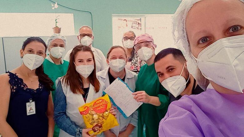 Paciente envia carta de agradecimento à equipe da Central Covid de Corupá - Crédito: Arquivo / Divulgação