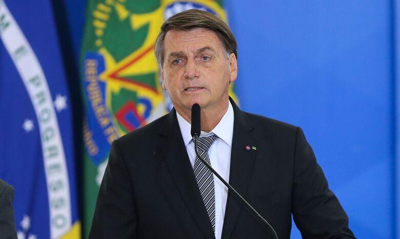 Bolsonaro participa de cúpula virtual sobre clima - Crédito: Fabio Rodrigues Pozzebom / Agência Brasil