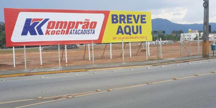 Grupo Koch deve gerar cerca de 200 empregos com nova loja em Jaraguá - Crédito: Patrícia Moraes
