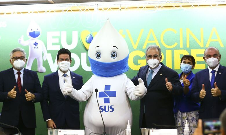 Campanha de vacinação contra a gripe deve imunizar 80 milhões - Crédito: Marcelo Camargo/Agência Brasil