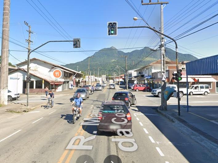 Semáforo está desativado no Bairro Vieira, em Jaraguá  - Crédito: Ilustrativa / reprodução Google