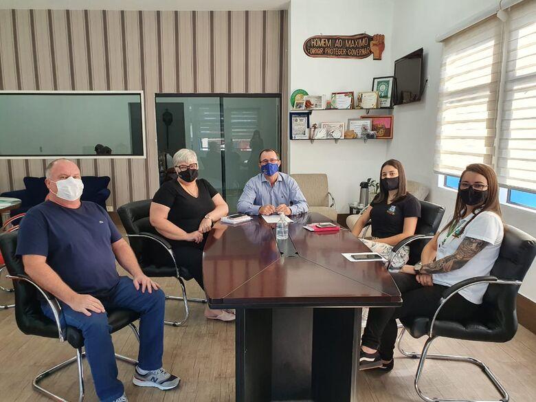 Prefeitura firma parceria para repasse de recursos para a Apae de Guaramirim - Crédito: Divulgação