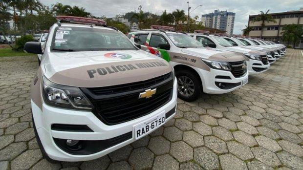 Procurado da Justiça é preso após veículo ser apontado por monitoramento em Jaraguá  -
