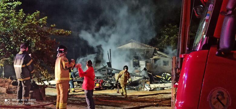Homem é preso suspeito de atear fogo em residência após discussão com a esposa  em Jaraguá - Crédito: Divulgação Redes Sociais