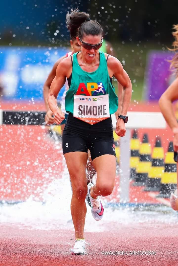 Simone Ferraz representa o Brasil no Sul-Americano de Atletismo - Crédito: Divulgação