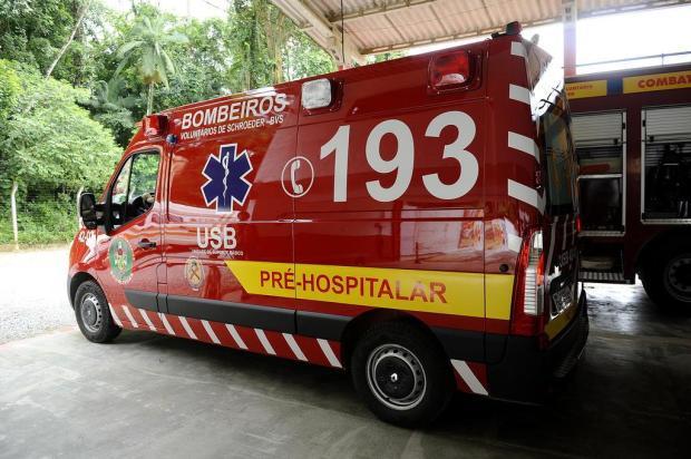 Motociclista fica ferido em acidente em Schroeder - Crédito: Arquivo / Divulgação