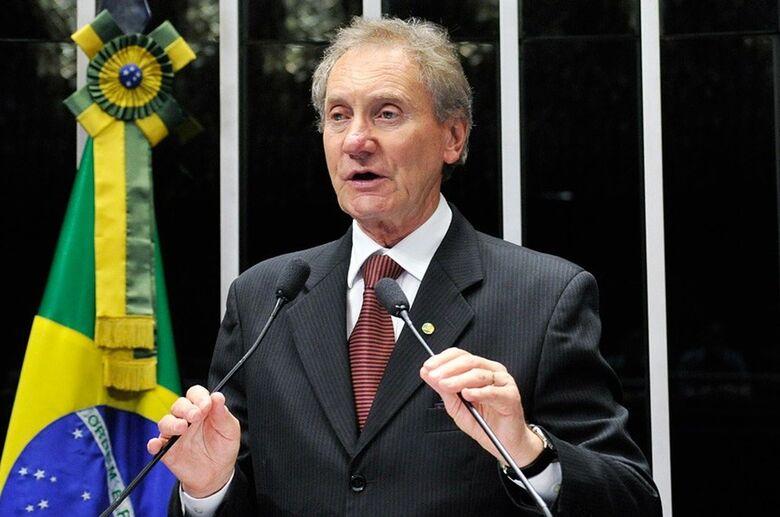 Ex-senador Casildo Maldaner é internado em estado grave em Florianópolis - Crédito: Geraldo Magela/Agência Senado/Divulgação
