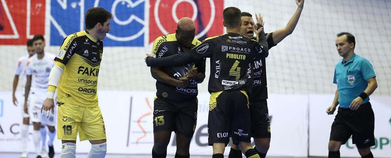 Jaraguá Futsal vence o Pato pela Copa do Brasil  - Crédito: Maurício Moreira/Pato Futsal