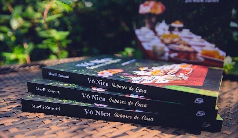 Com renda revertida para a AMA, livro Vó Nica  Sabores de Casa ganha segunda edição - Crédito: Chroma / divulgação