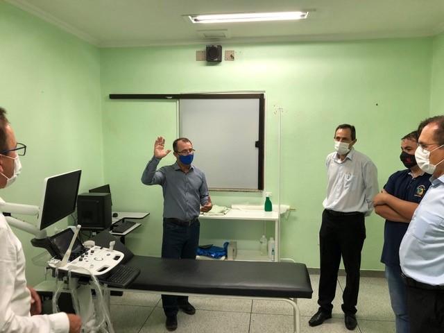 Lunelli faz doação para ajudar unidades hospitalares de Guaramirim e Corupá - Crédito: Divulgação