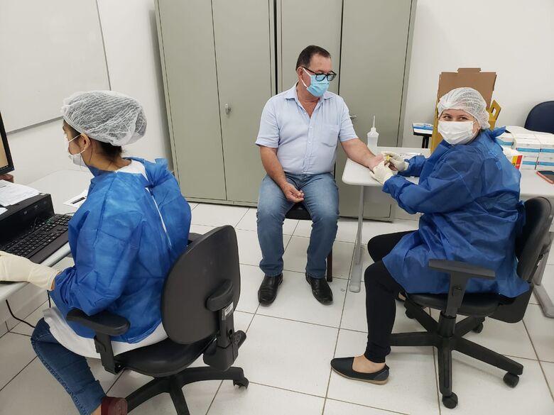 Guaramirim faz mais de 500 testes para Covid-19 em pessoas assintomáticas  - Crédito: Divulgação