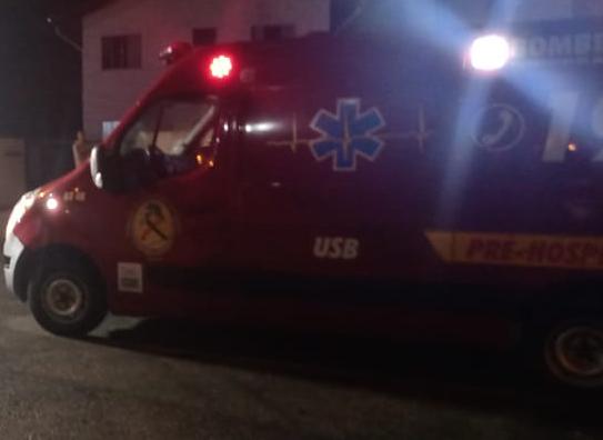 Adolescente é socorrida após acidente de bicicleta no bairro Três Rios do Sul  - Crédito: Arquivo/Jaraguá FM