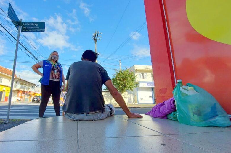 Diminuem os casos de pessoas em situação de rua em Jaraguá, afirma Prefeitura  - Crédito: Arquivo / Divulgação