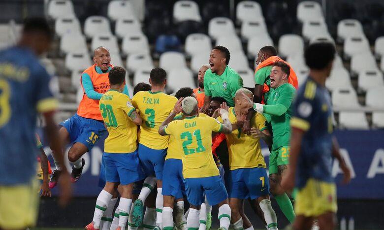 Copa América: Brasil vence Colômbia no fim em duelo com gol polêmico - Crédito: Ricardo Moraes