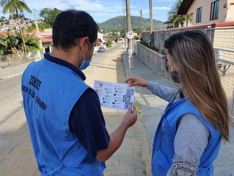 Guaramirim segue com orientações visando o combate da dengue - Crédito: Divulgação