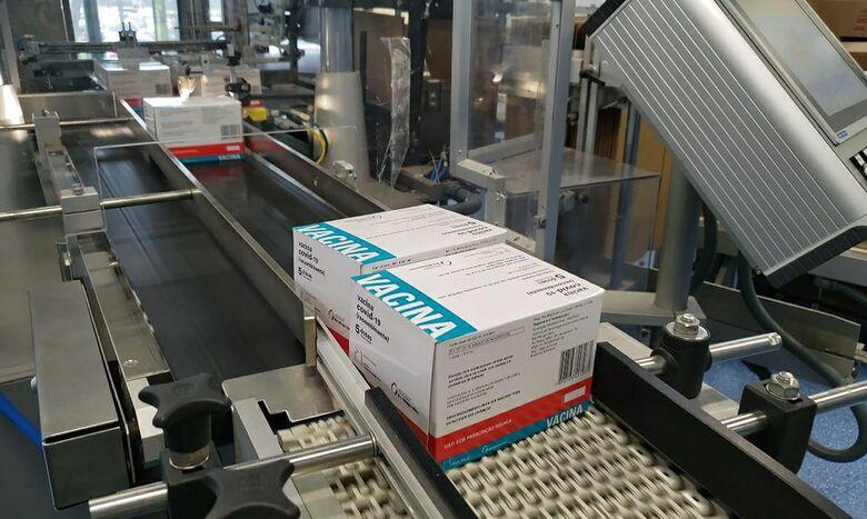 Fiocruz entrega cerca de 5 milhões de doses da vacina contra covid-19 - Crédito: Fernando Brito / MS