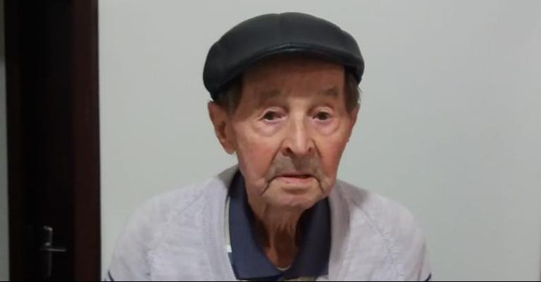Nono Martini de Guaramirim completa 100 anos e dá receita para vitalidade - Crédito: Divulgação