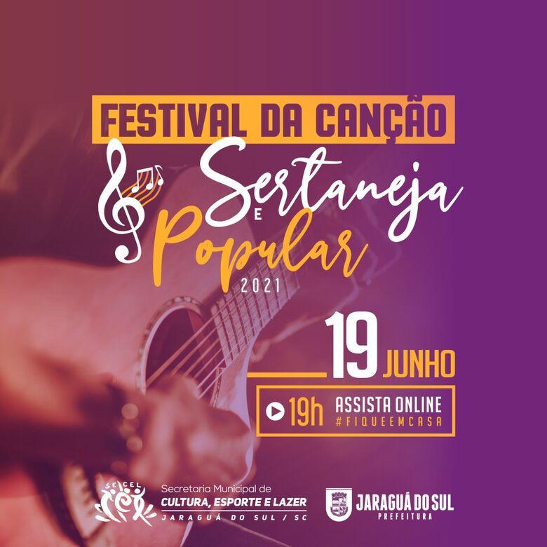 Festivais da Canção de Jaraguá têm número recorde de inscritos - Crédito: Divulgação