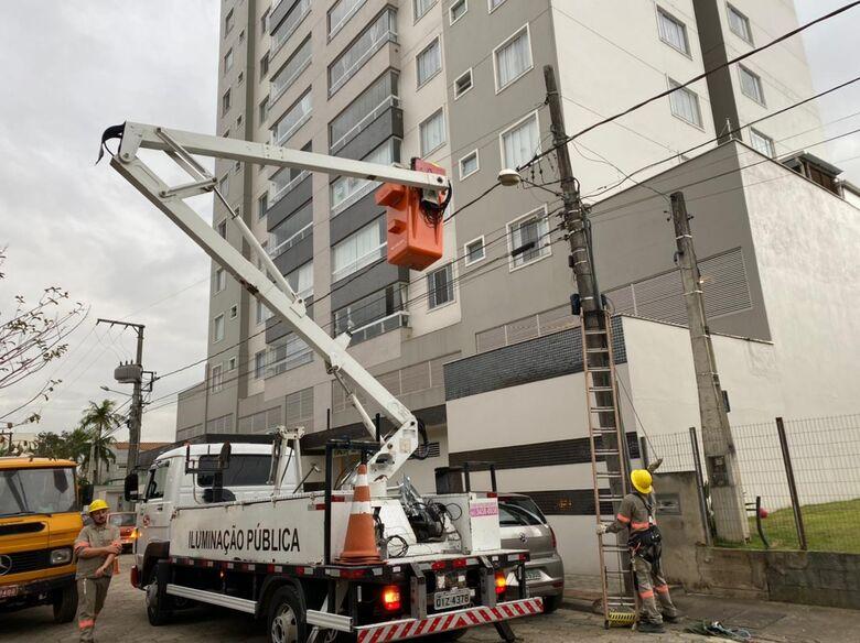 Mais 300 ruas terão iluminação de LED em Jaraguá do Sul - Crédito: Divulgação