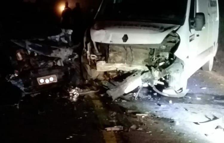 Bebê de um mês morre em grave acidente na BR-280, em SC  - Crédito: Divulgação/PRF