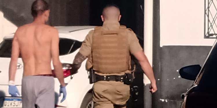 Suspeito de matar menina em Guaramirim é interrogado  -
