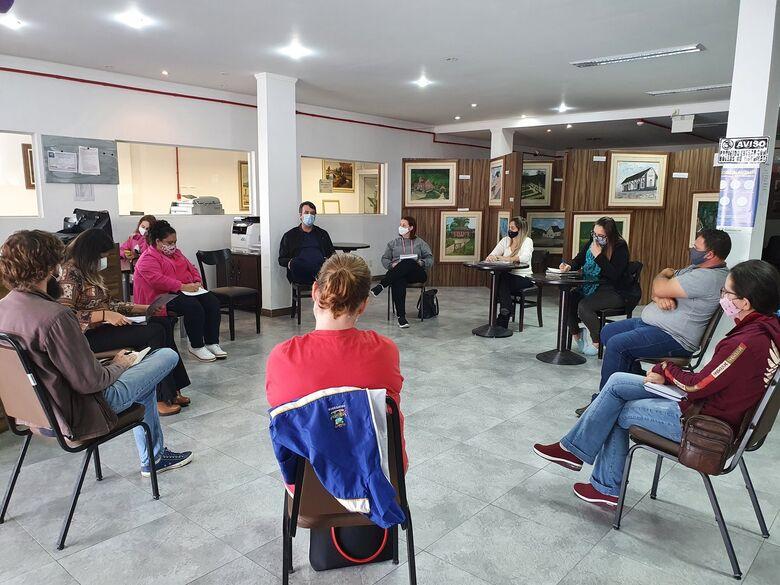 Conselho de Cultura inicia conversas sobre o Plano Municipal de Cultura em Guaramirim  - Crédito: Divulgação
