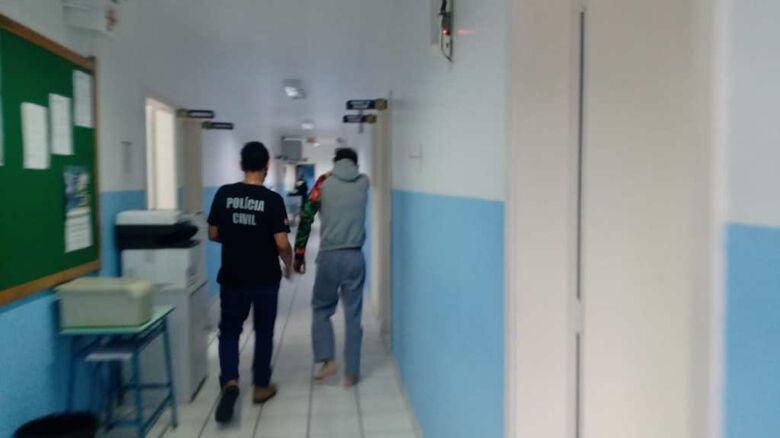 Pai confessa que matou filha de cinco anos em Guaramirim - Crédito: Gabriel Junior/Jaraguá FM