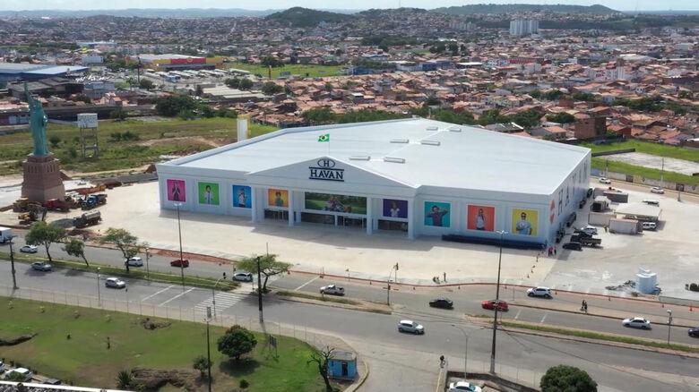Rede catarinense Havan inaugura 160ª filial - Crédito: Divulgação