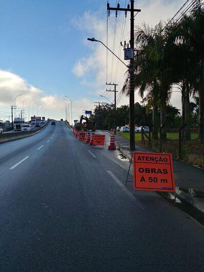 Começam as obras na região do viaduto da Waldemar Grubba - Crédito: Divulgação